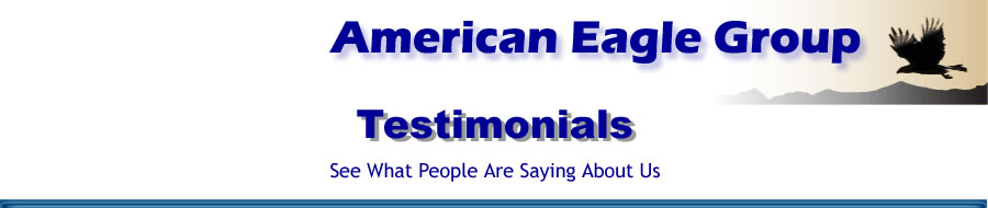 American Eagle Testimonials